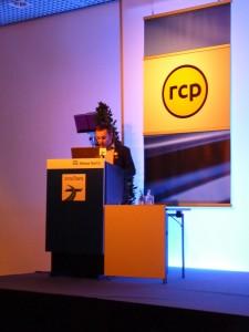 """Conférence donnée par Frédéric Dandault, designer chez RCP, sur le thème : """"Sensory design"""""""