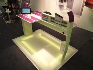 Stand SMTC - Maquette concept table conçue par RCP en collaboration avec la SNCF