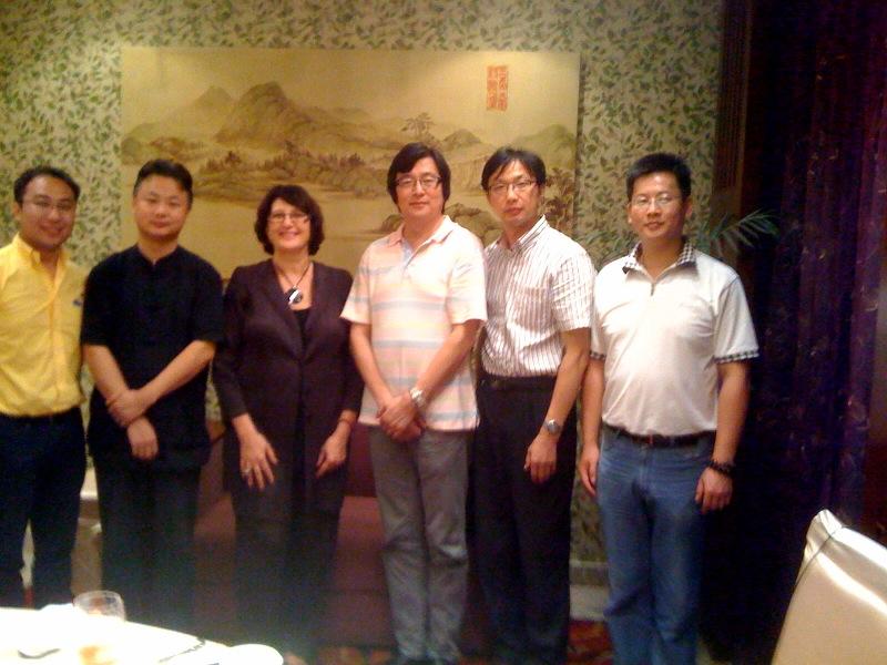 SUZHOU - Équipe enseignante du Département art plastique de l'Université de Soochow