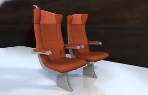 Design des sièges pour les trains régionaux / Intercités Normandie
