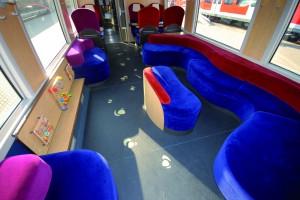 Design des espaces Ludospace, pour les enfants / MooviTER Bretagne