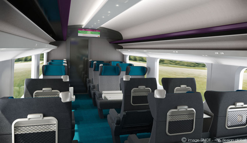 R novation tgv blog rcp design global for Interieur tgv