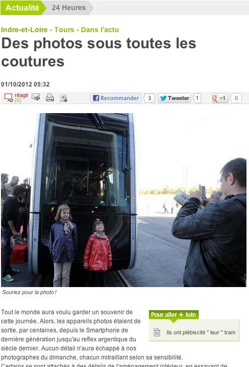 Article NR Tram Tours 01-10-12 - 2