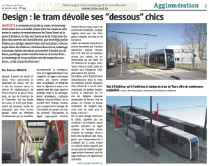 La Tribune de Tours - article