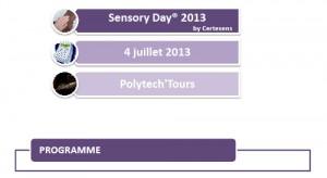 programme sensory design - sensory day