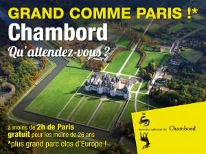 Affiche 4x3 Chambord - RCP