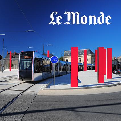 Le monde le tram de tours